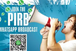 PIRB WhatsApp Broadcast
