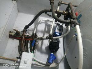 A Geyser Installation gone wrong